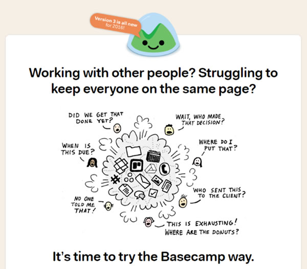 Basecamp Project Management Tool
