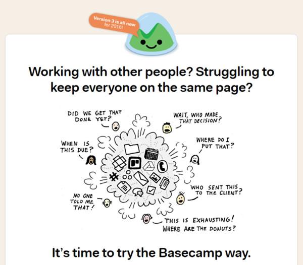 Basecamp Project Management Tool