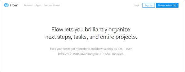 Flow Project Organization Tool