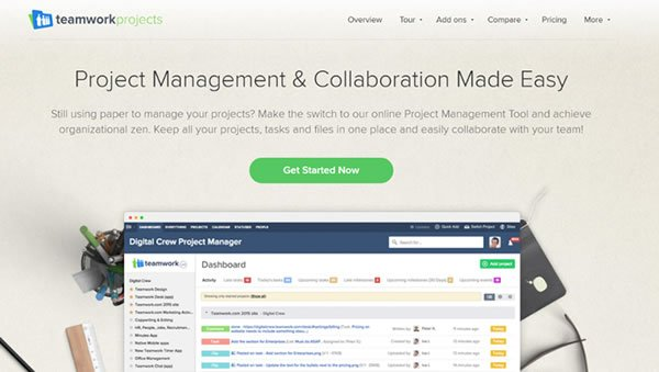 Teamwork Projects Collaboration Tool
