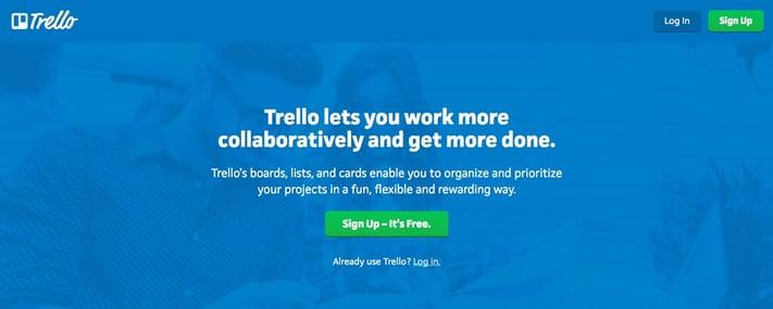 Trello CTA example
