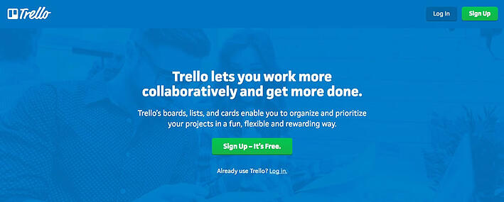 Trello CTA example