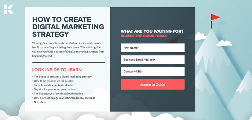 Kuno Creative Landing Page Example