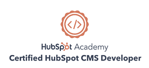 Certified HubSpot CMS Developer-Badge