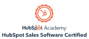 HubSpot Inbound Sales Software Certification