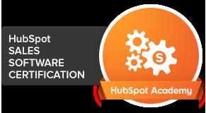 HubSpot Sales Software Certification