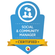 Digital Marketer Social & Community Manager Certification