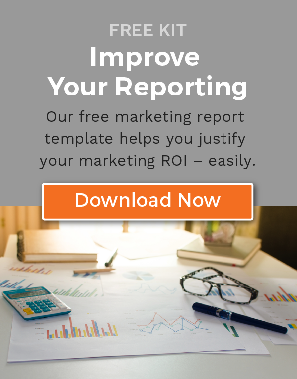 Download our Free Marketing Reporting Kit