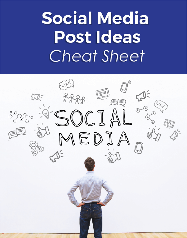 Social Media Post Ideas Cheat Sheet